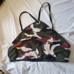 BOGO Bikini top size med camo